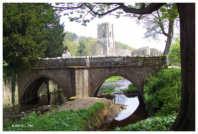 Bridge and Fountains Abbey
